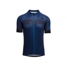 AGU SS Essential Men Jersey Cycling Melange Deep Blue