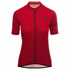 AGU SS Essential Women Cycling Jersey True Red