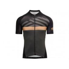 AGU SS Maze Trend Men Cycling Jersey Black