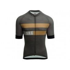 AGU SS SIX6 Merino Men Cycling Jersey Grey
