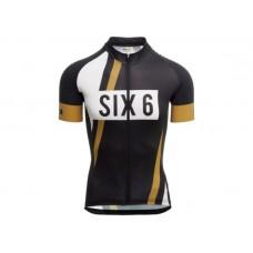AGU SS SIX6 PNSC Men Cycling Jersey Black