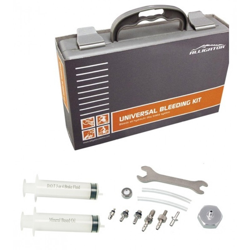 Alligator Hydraulic Disc Brake Universal Bleeding Kit, HK-UBK001