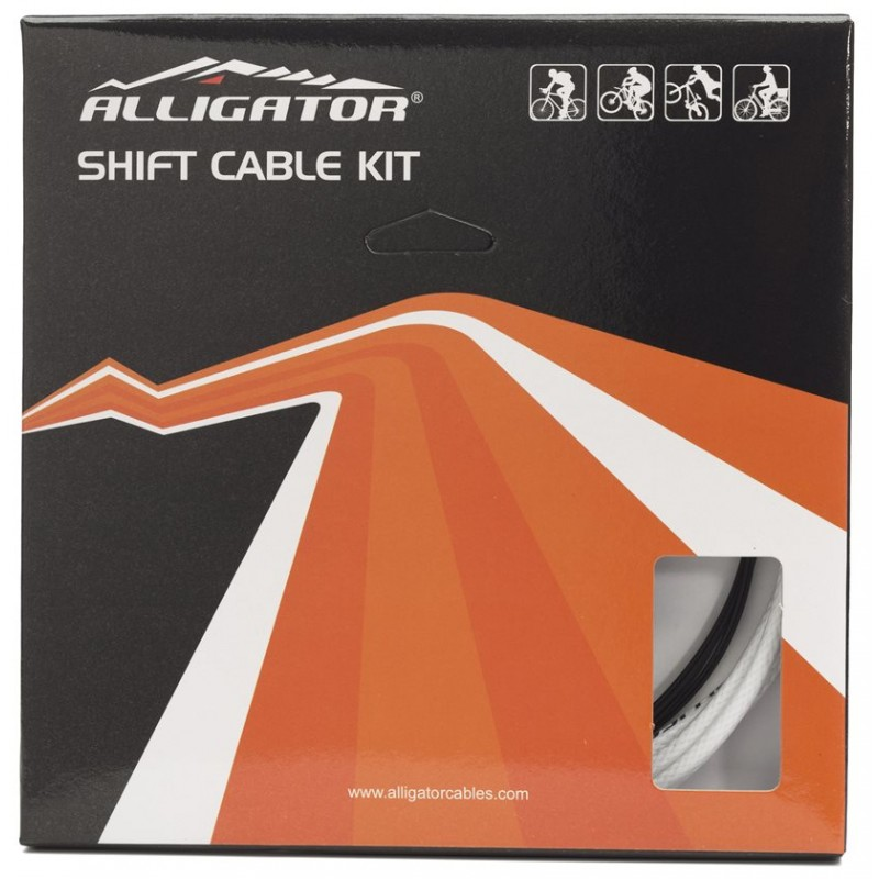 Alligator Reliable 11 Speeds SP Bicycle Shift Gear Cable Kit, LY-ERK11S