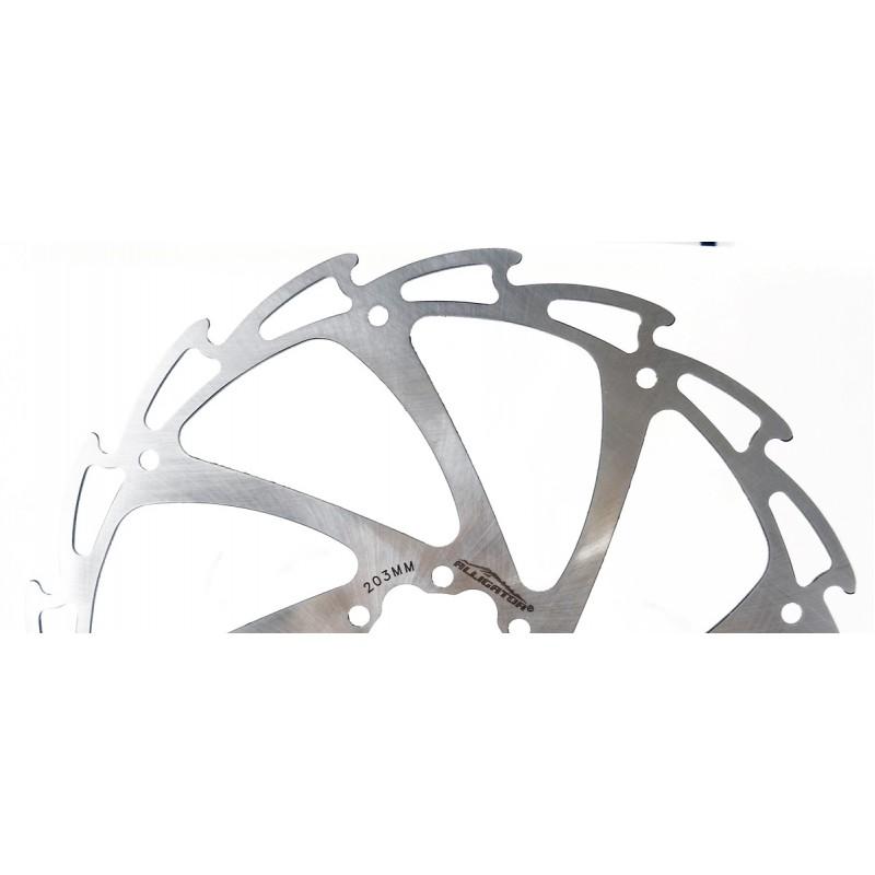 Alligator Wind-Cutter Bicycle Disc Brake Rotor 180mm, HK-R12-DIY