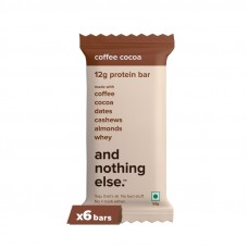 And Nothing Else 12g Protein Bar Coffee Cocoa Pack Of 6