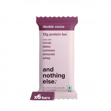 And Nothing Else 12g Protein Bar Double Cocoa Pack Of 6