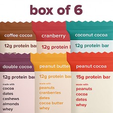 And Nothing Else-6 Protein Bars-6 Assorted Flavours