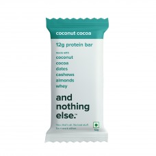 And Nothing Else Coconut Cocoa Protein Bar 12g - Box Of 6