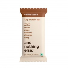 And Nothing Else Coffee Cocoa Protein Bar 12g - Box Of 6