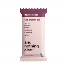 And Nothing Else Double Cocoa Protein Bar 12g - Box Of 6