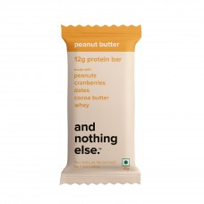 And Nothing Else Peanut Butter Protein Bar 12g - Box Of 6