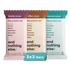And Nothing Else Variety Pack Protein Bar 12g - Box Of 6