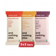 And Nothing Else Peanut Heavy Protein Bar - Pack Of 6