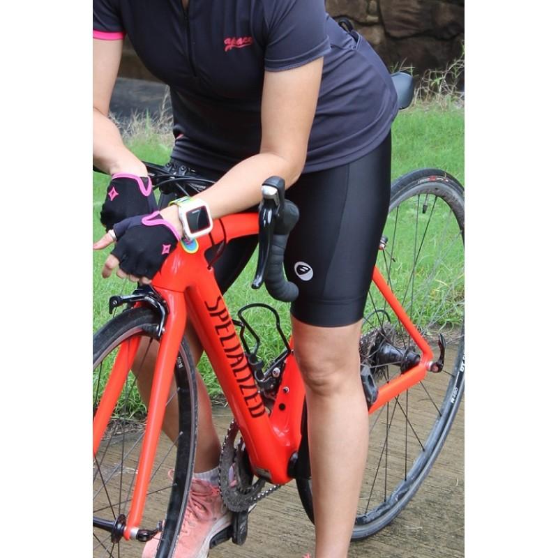Apace Gel-Padded Slingshot Womens Cycling Shorts Black