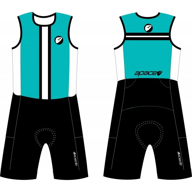 Apace Streamline SL Mens Triathlon Suit Sea Green
