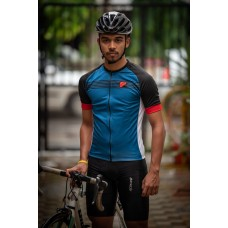 Apace 2019 Chase Mens Cycling Jersey Blue Black