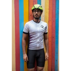Apace 2019 Chase Mens Cycling Jersey White