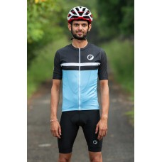 Apace Breakaway Snug-Fit Mens Cycling Jersey Skyfall