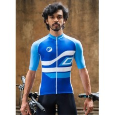 Apace Chase Snug-Fit Men Cycling Jersey Neela