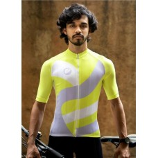 Apace Chase Snug-Fit Men Cycling Jersey Peela