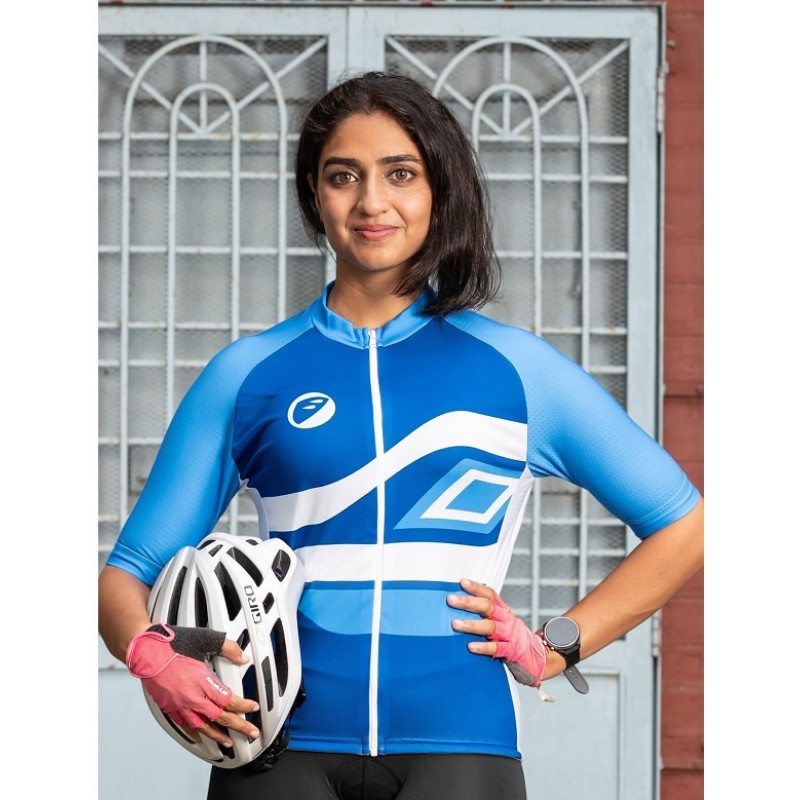 Apace Chase Snug-Fit Women Cycling Jersey Neela