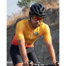 Apace Hex Racer Race Fit Mens Ultra Light Cycling Jersey Allure