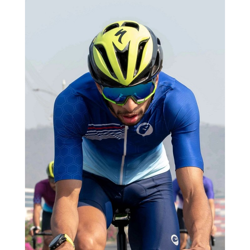 Apace Hex Racer Race Fit Mens Ultra Light Cycling Jersey Slay