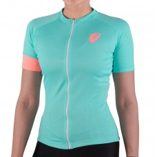 Apace Peleton Womens Cycling Jersey Aqua