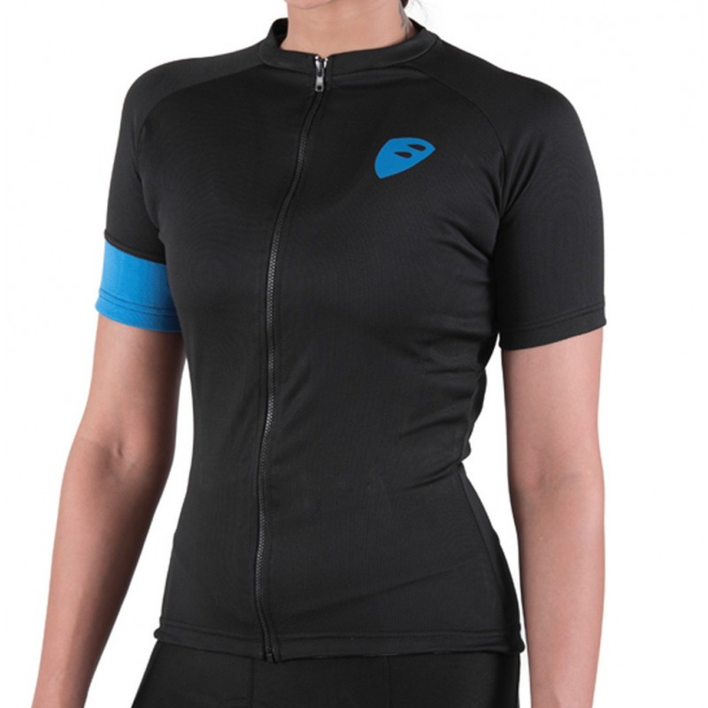 Apace Peleton Womens Cycling Jersey Black