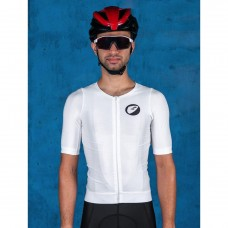 Apace Podium Race-Fit Men Cycling Jersey Snow