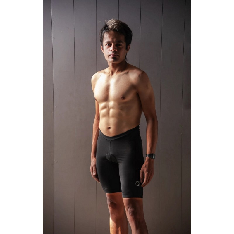 Apace Presto 2021 Mens Training Triathlon Shorts Black