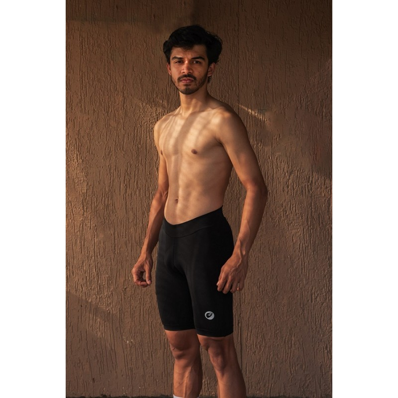 Apace Pronto 2021 Mens Cycling Foam Padded Shorts Black