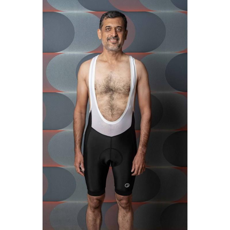 Apace Pronto Mens Cycling Padded Bib Shorts Black