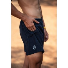 Apace Tempo Mens Running Shorts Navy