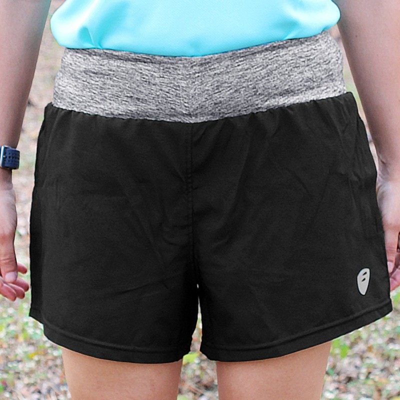 Apace Tempo Womens Running Shorts Black