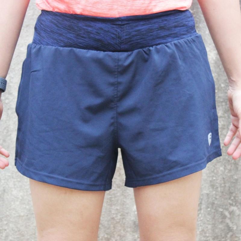 Apace Tempo Womens Running Shorts Navy