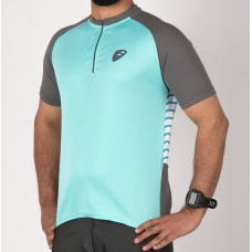 Apace Transition Mens Cycling Jersey Aqua Blue