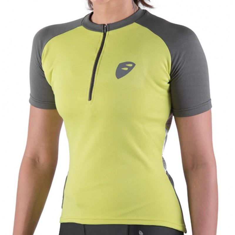 Apace Transition Womens Cycling Tshirt Apple Green