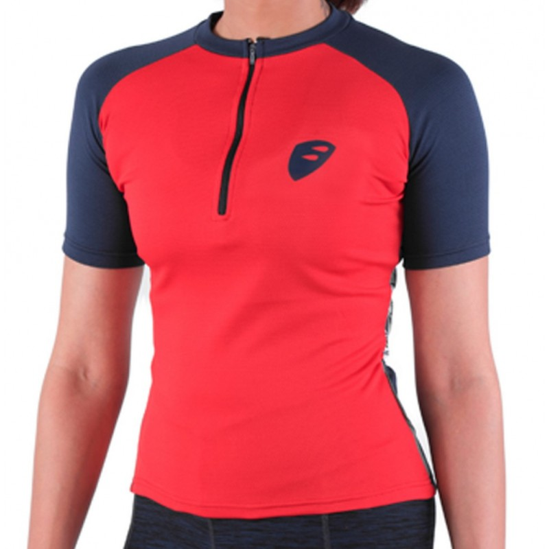 Apace Transition Womens Cycling Tshirt Red