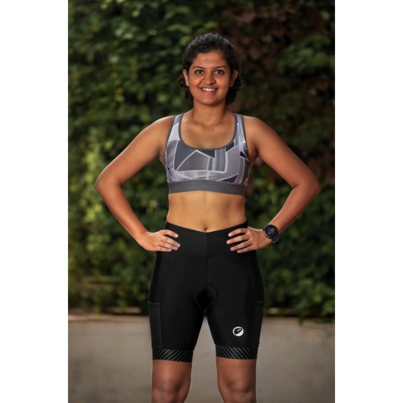 Apace Verge Womens Triathlon Shorts Black