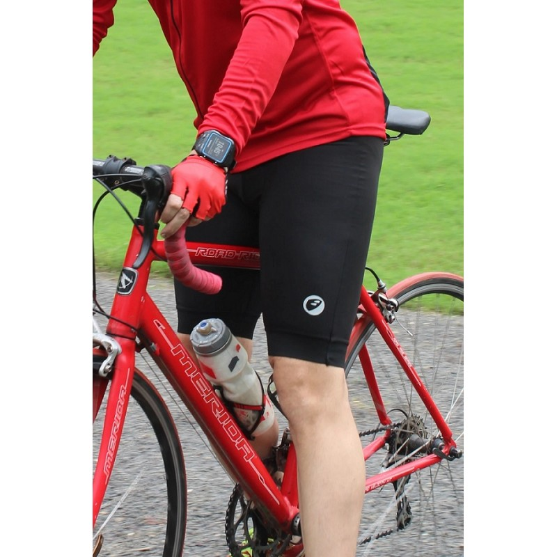 Apace 2020 Pronto Mens Cycling Padded Shorts Black