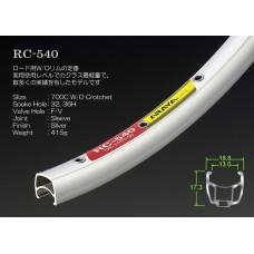 Araya Rim Rc-540 700c Silver Fv 32h