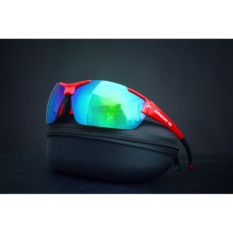 Argon 18 Cycling Sunglasses Gloss Red