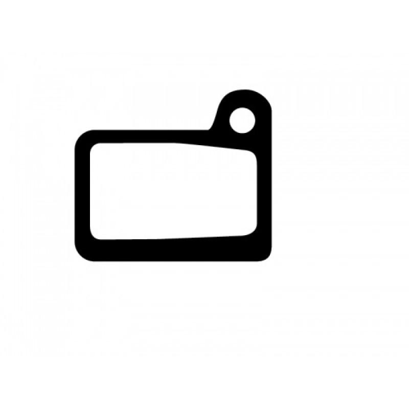Ashima Disc Brake Pad AD0103-OR-S