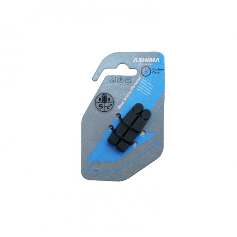 Ashima Thinner Replacement Brake Pad For Carbon Rims