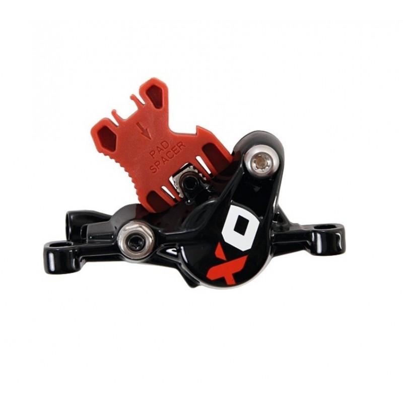 Avid Disc Brake Caliper Assembly-X0 No Hose-Black/Red