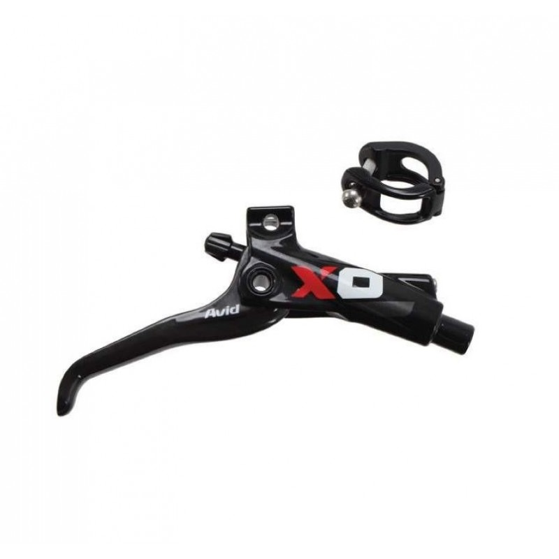 Avid X0 Brake Lever Servicekit (No Hose) - Black/Red