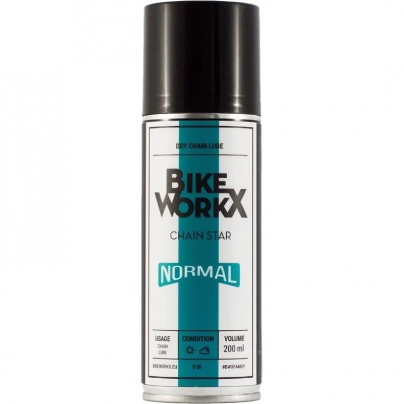 Bike Workx Chain Star Normal Dry Chain Lube Spray 200ml