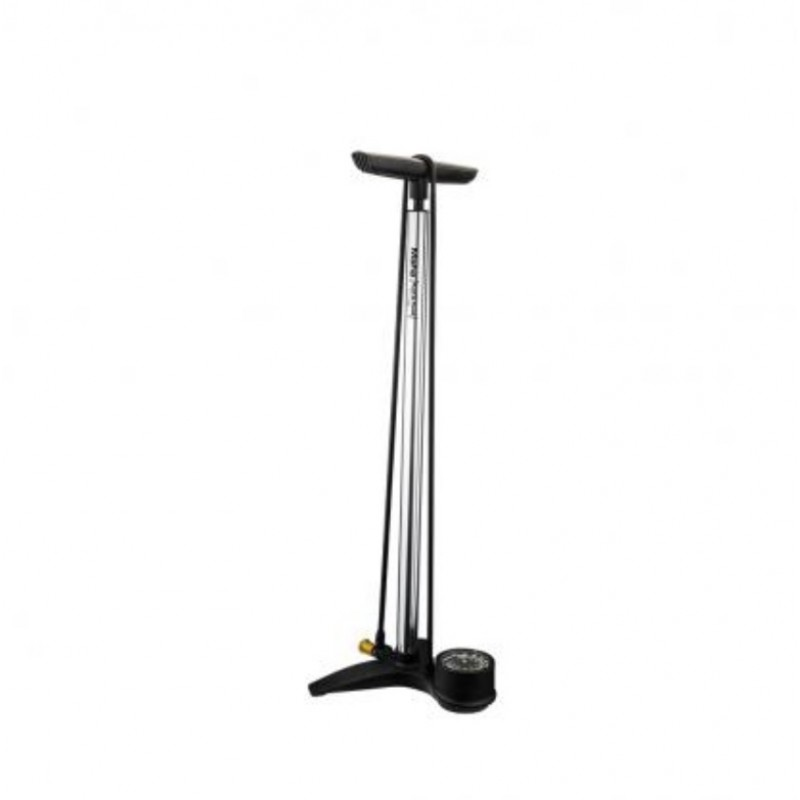 Birzman Floor Pump Maha Push & Twist Grand-V-Silver