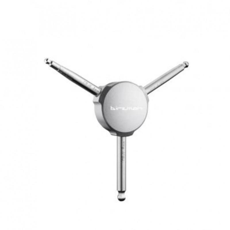 Birzman Y-Grip Ball Pt.Hex Key Set 4/5/6mm